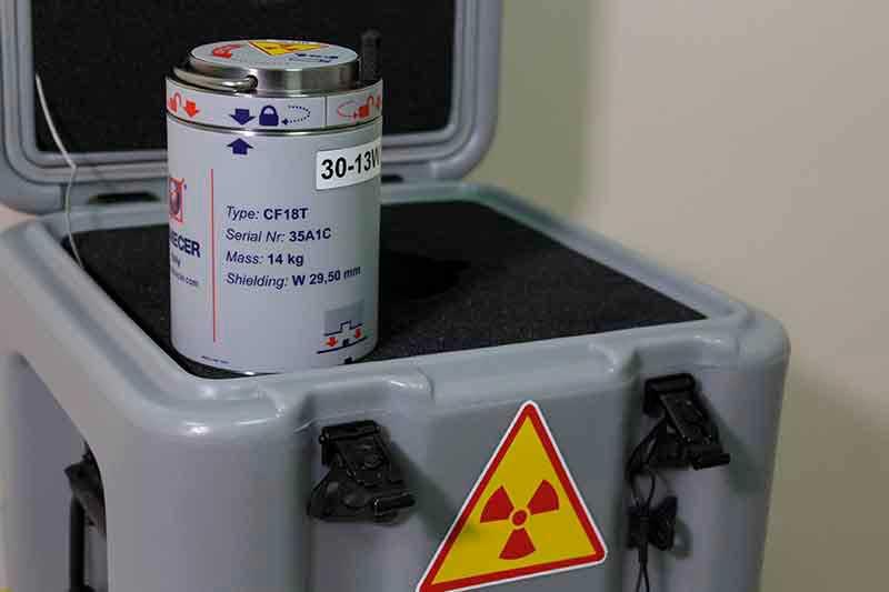контейнер для обращения с радиоактивными веществами