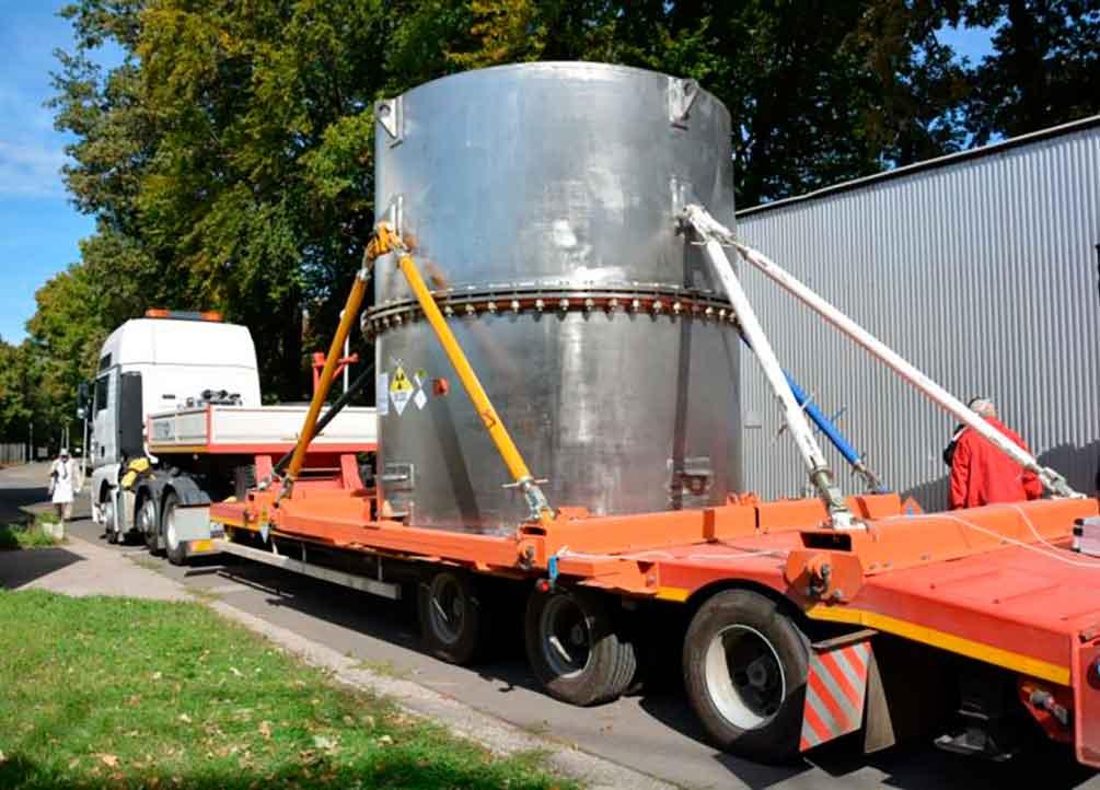 Лицензия на обращение с радиоактивными веществами при транспортировании